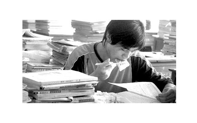 黑白高考图片_励志大学