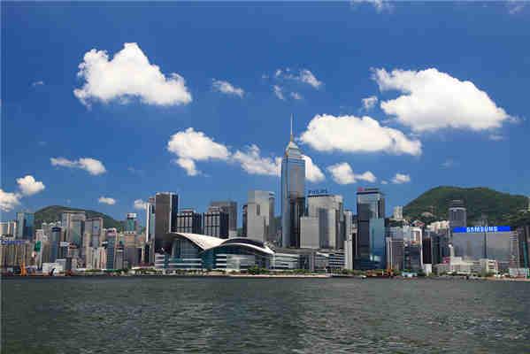 香港维多利亚港_香港夜景