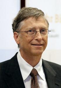 比尔盖茨励志图片_名人比尔盖茨的图片
