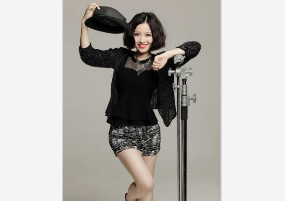 歌手姚贝娜励志图片