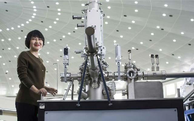 中国女科学家谢毅图片