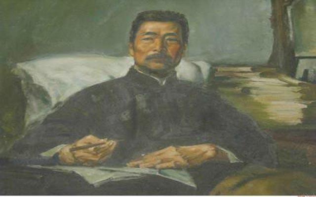 关于鲁迅的画作_励志大学