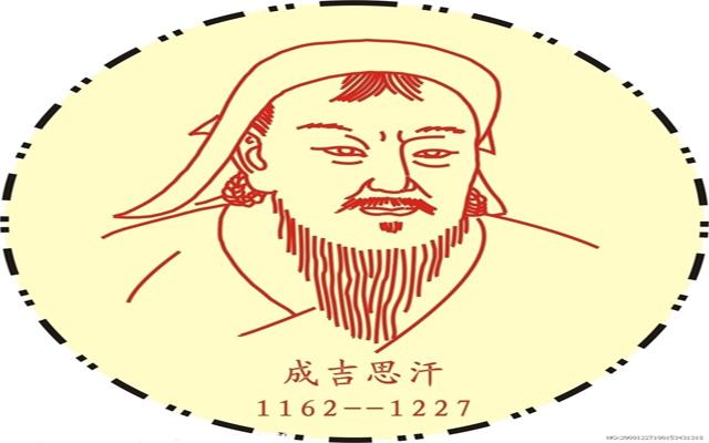 成吉思汗画像_励志大学