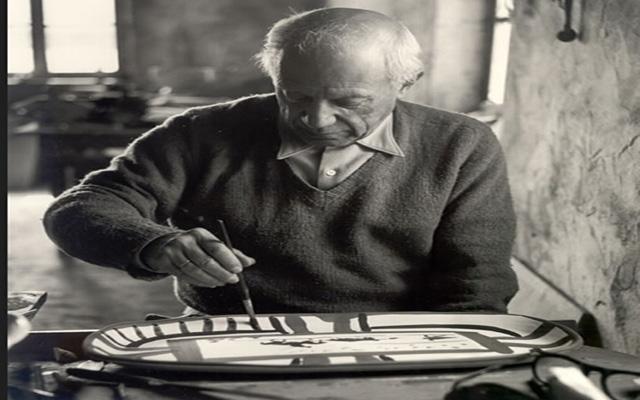 毕加索励志图片
