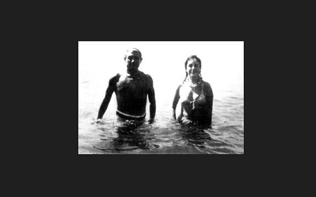 毕加索与妻子_励志大学