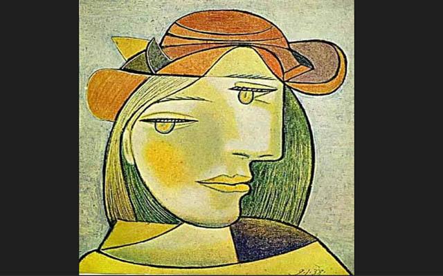 毕加索女人画像_励志大学