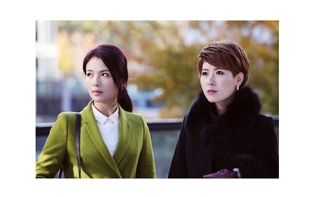 刘涛和剧中同事的照片_励志大学