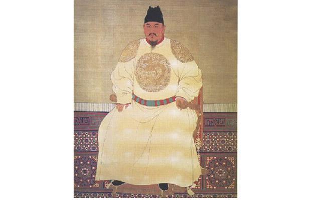 明太祖朱元璋画像
