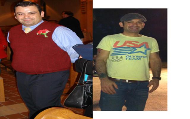 减肥前后对比照片